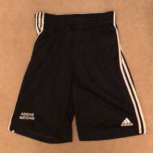 adidas Nations 3 Stripe Shorts